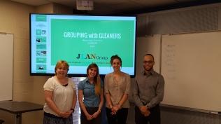 JLAN (L-R): Jennifer, Naomi, Lily, Antonio