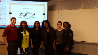 AACJV (L-R): Jesse, Pastor Diane (client), Chevelle, Angelica, Vanessa, Alaina