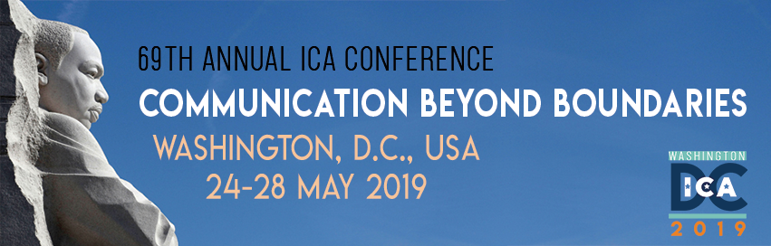 Presenting research on Graduate Students' Resilience and Stress Management at ICA 2019